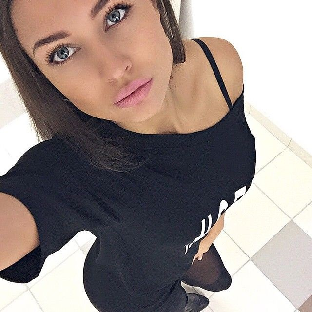 Hot Russian Girl Taking A Selfie